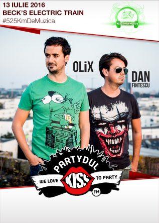 Partydul KissFM #525KmDeMuzica - Primul party in tren